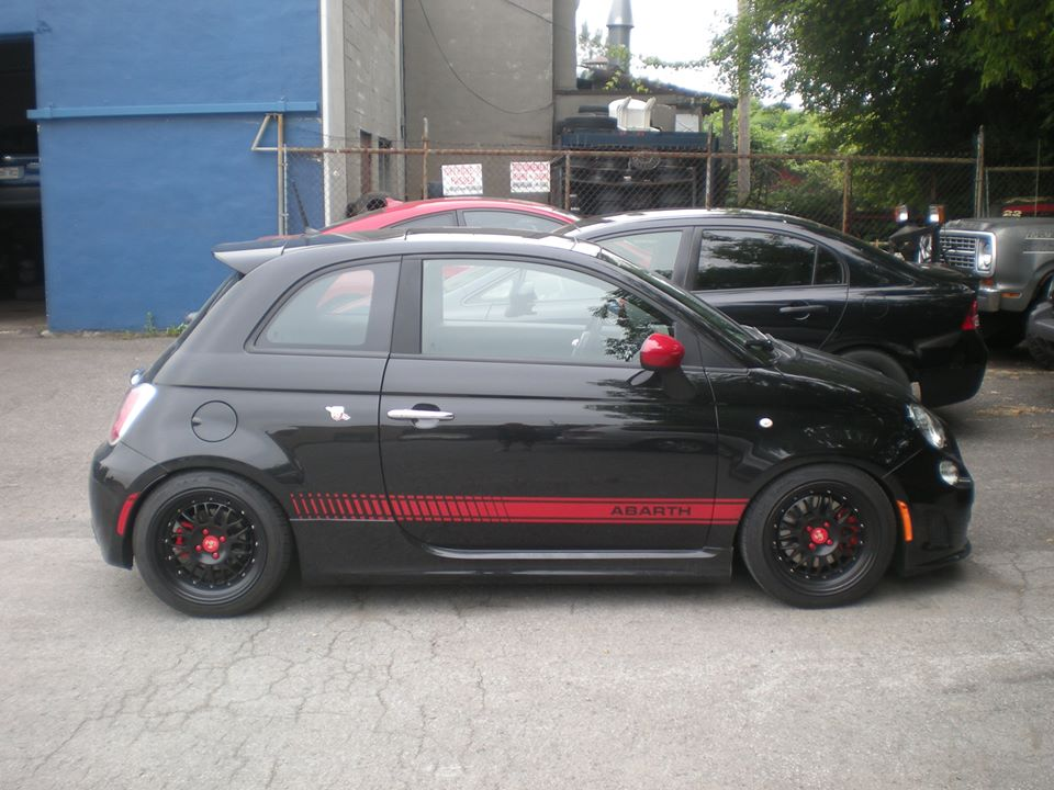 montreal abarth stance mindset wheels 16x8 megan racing. Black Bedroom Furniture Sets. Home Design Ideas