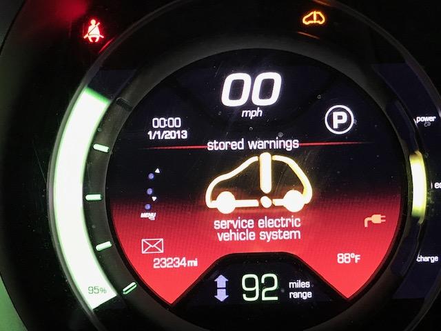 Service Vehicle Electrical System Error Fiat 500 Forum