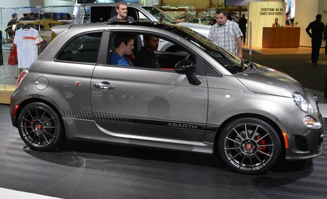 My Abarth test Drive Report