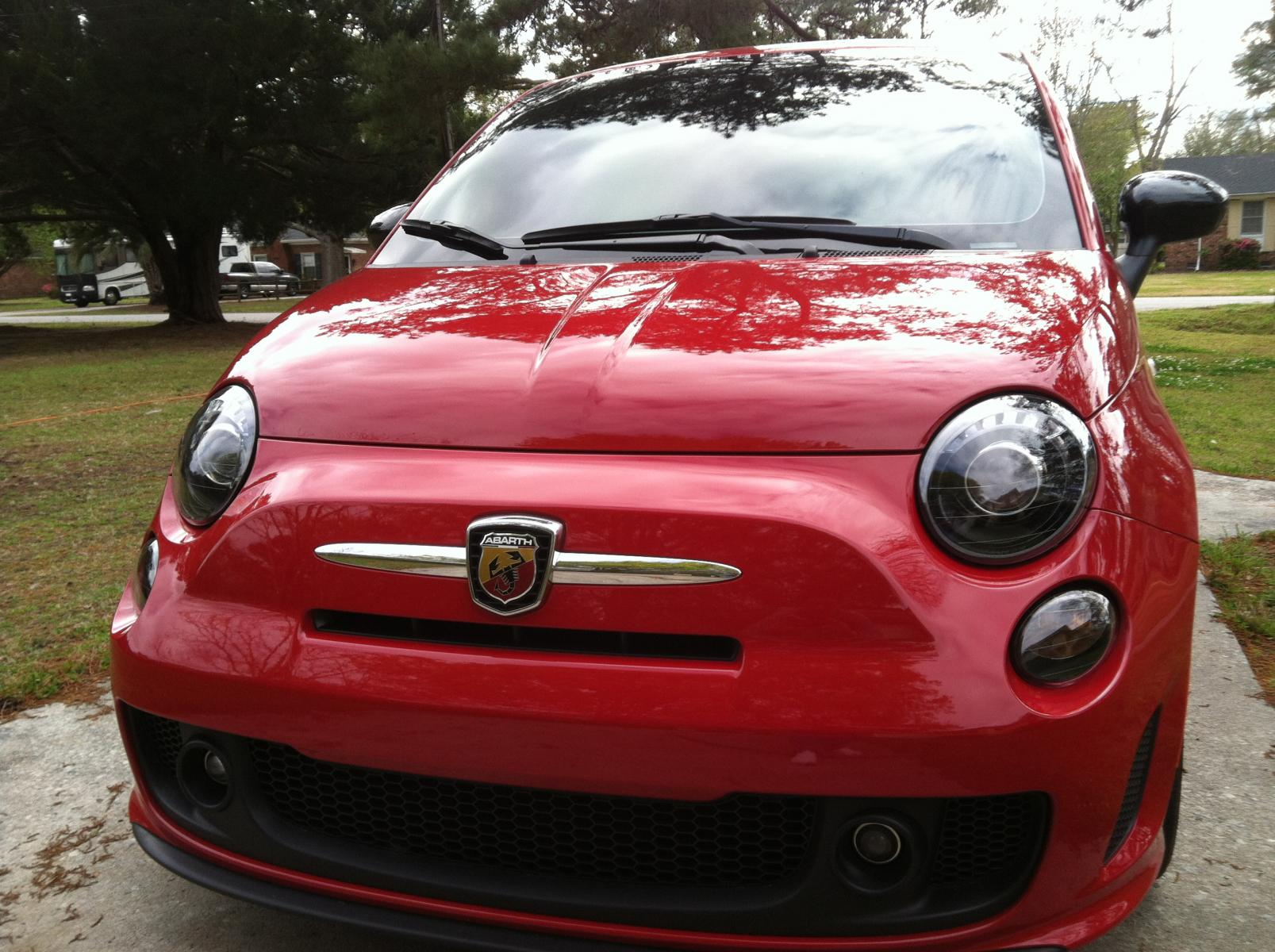 turbo headlights installed on 2013 abarth page 2. Black Bedroom Furniture Sets. Home Design Ideas