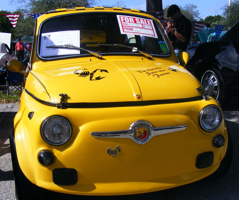 ABARTHPhotos From Car Show In Pompano Beach Florida - Pompano car show
