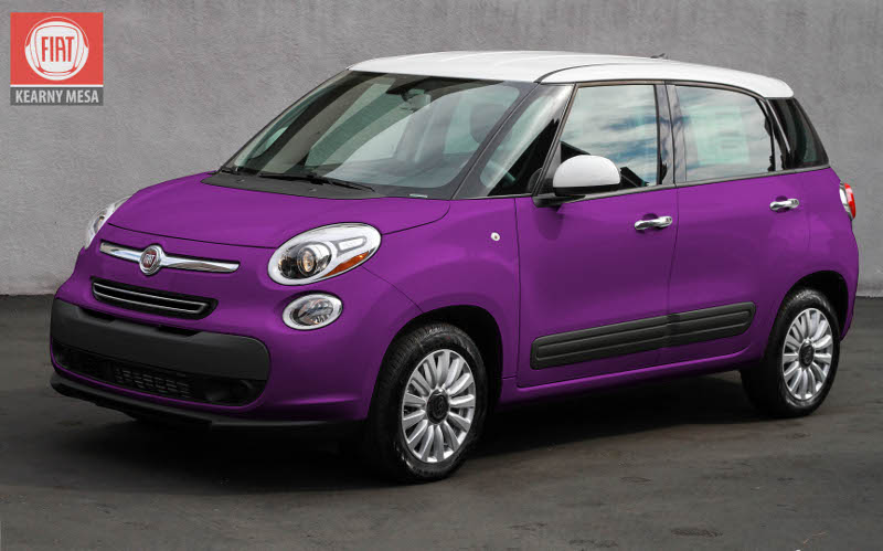 Fiat S 500l Exterior Colors Are Utterly Conventional And