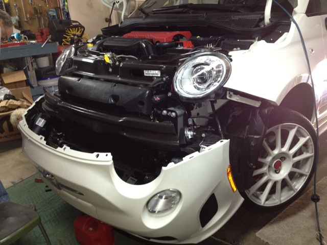 : Replace Headlights & DRLs on 2013 Abarth