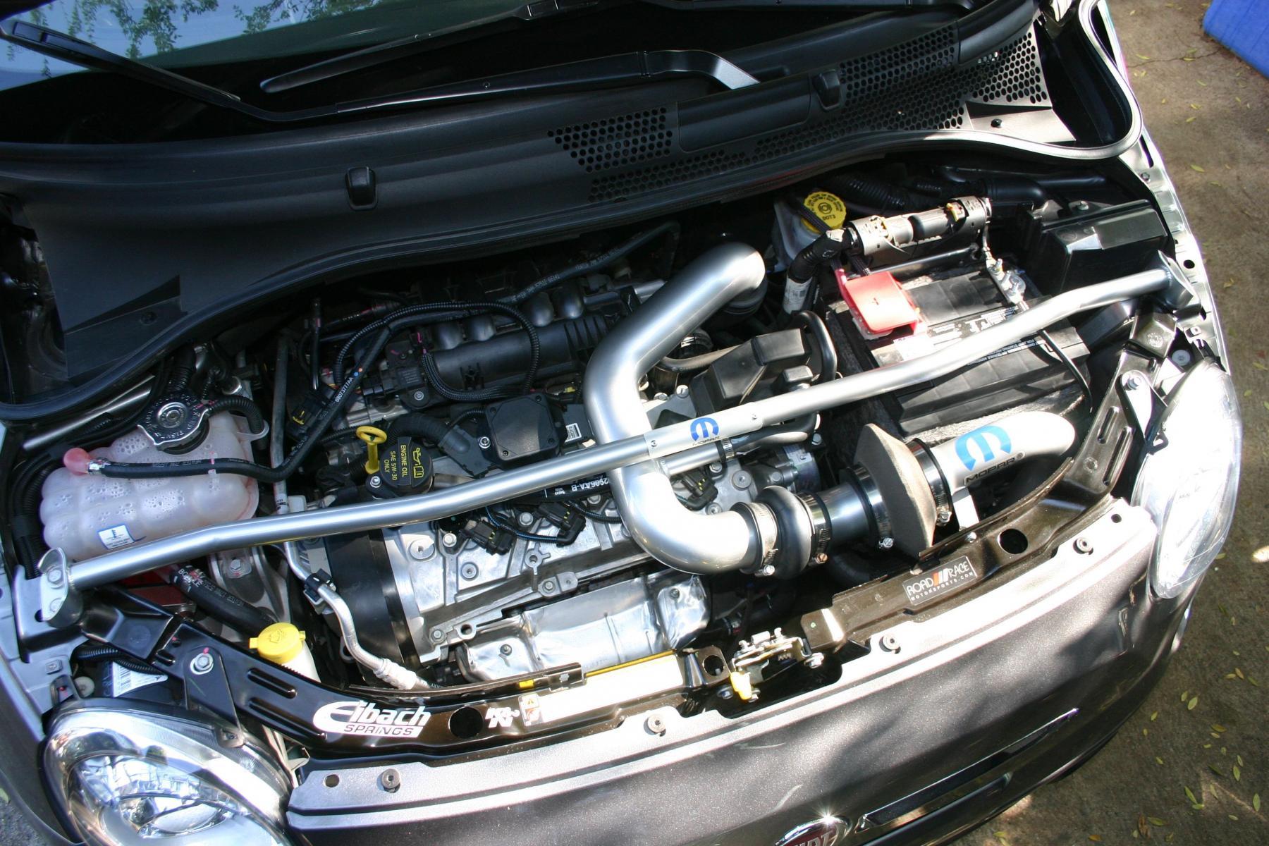Mopar Abarth Cold Air Intake Fiat World Test Drive