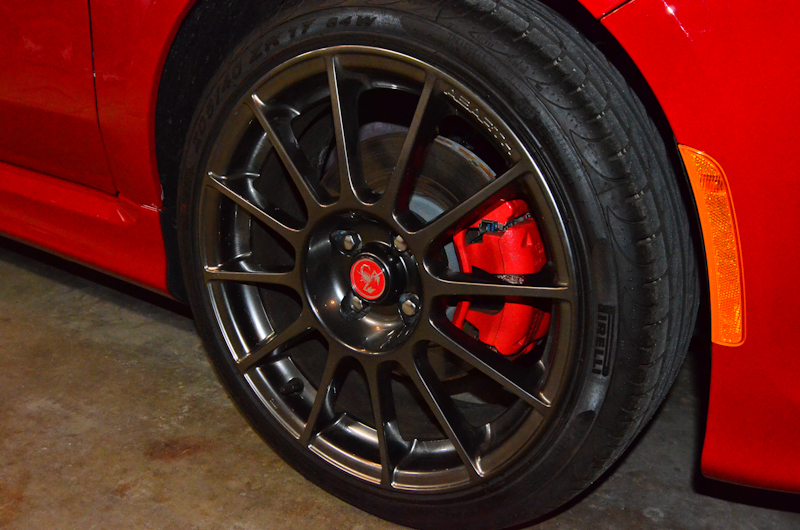 Abarth forged 17