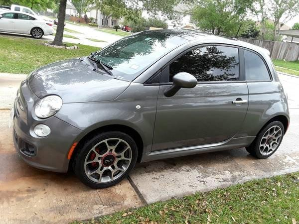 Showcase cover image for 2012 Fiat 500 Sport Manual