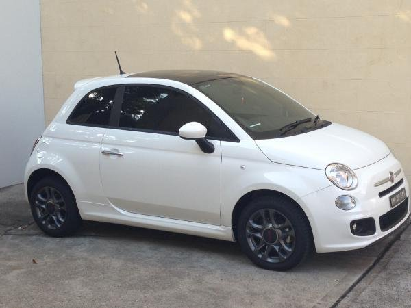 Showcase cover image for Fiat 500 Sport