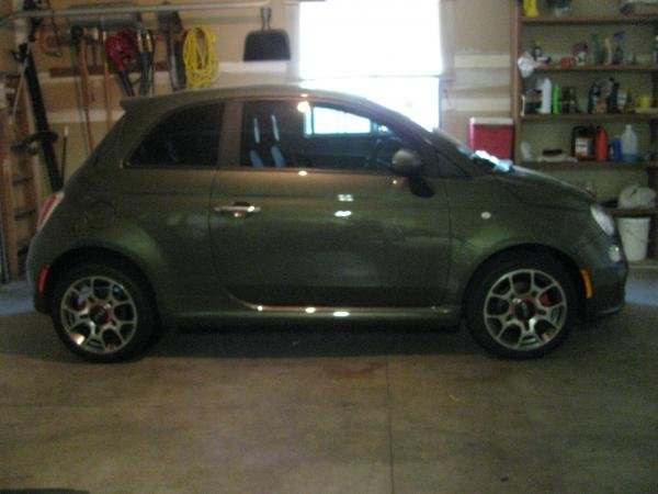 Showcase cover image for kcm's 2012 Fiat 500 Sport