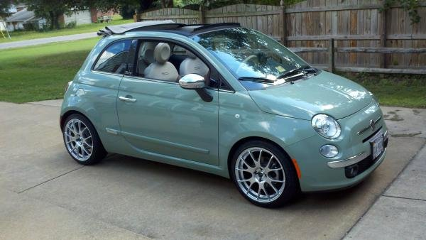 Showcase cover image for Mr. Pickles's 2012 Fiat 500C