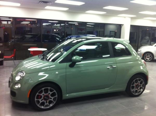 Showcase cover image for SpicyMeatball's 2012 Fiat 500