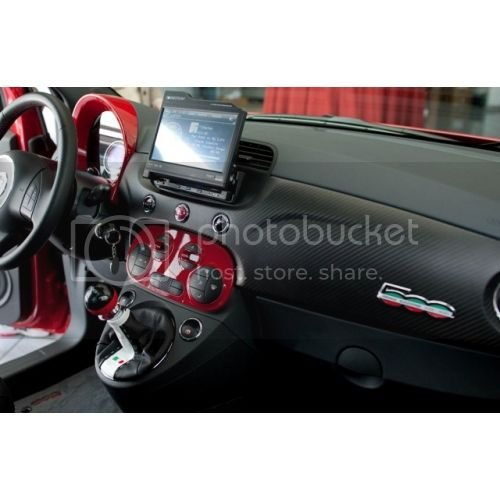 Dash pics with aftermarket shift boots | Fiat 500 Forum