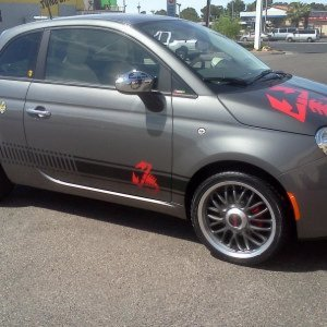 my version of a abarth