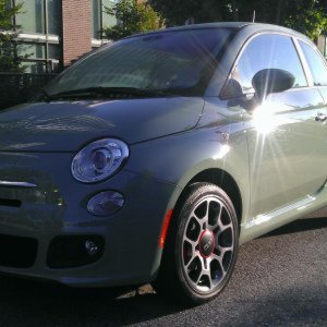 Our FIAT 500 Sport