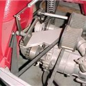 FIAT GUZZI REAR ENGINE PUSHER.