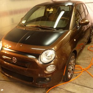 Fiat Stripe Package Project Just finished painting